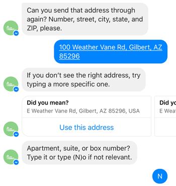 Leading bot conversation