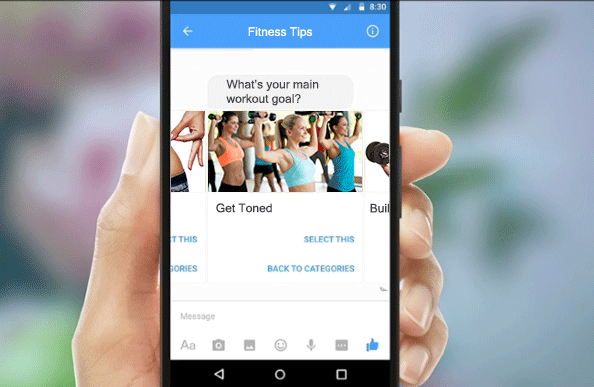 Chatbots and Service Industry - Fitness Bot