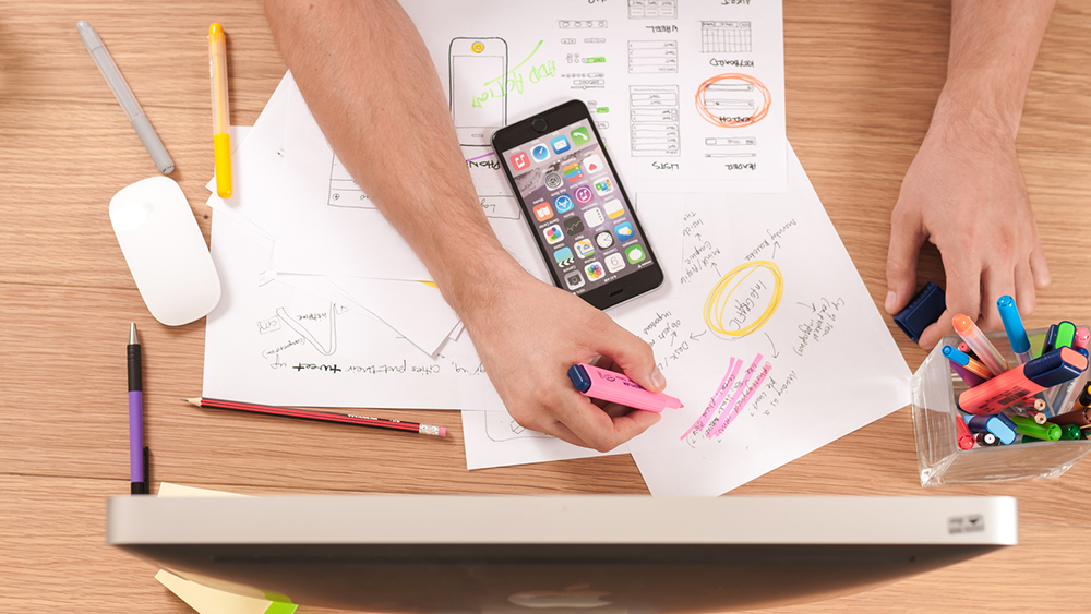Basic design principles influencing user experience
