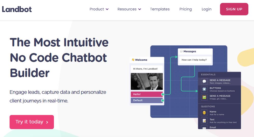 Chatbot development platform - landbot