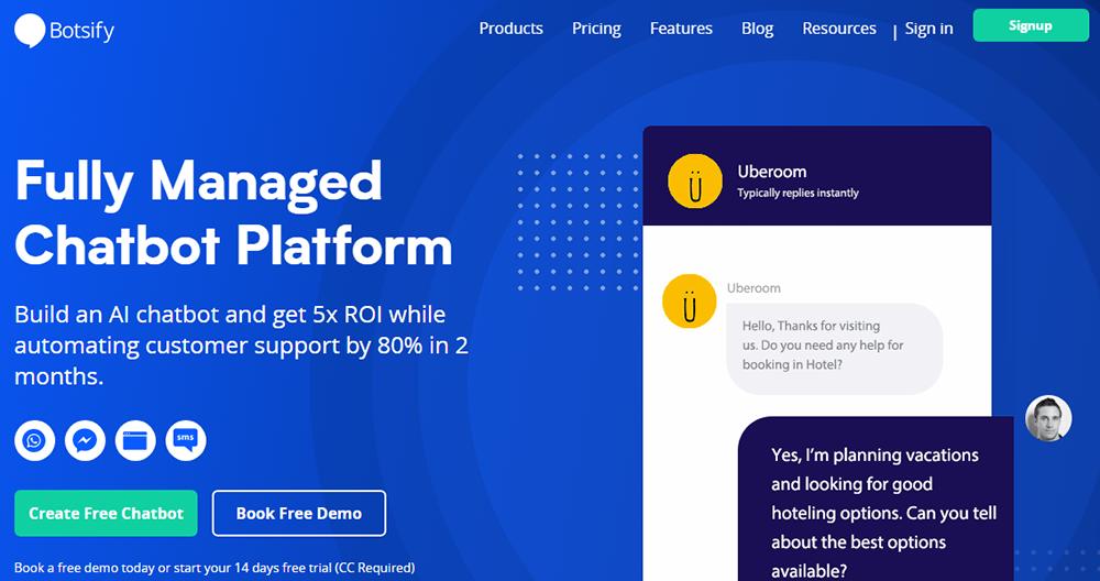 Chatbot development platform - botsify