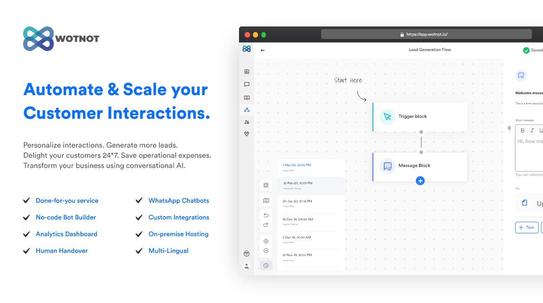 No-code Chatbot Platform