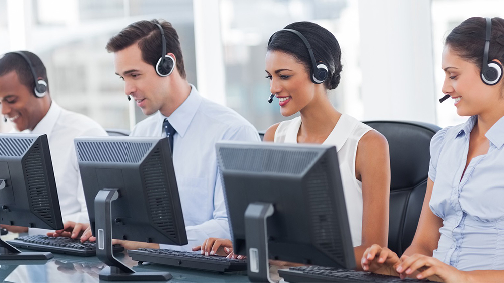 Cloud based call center