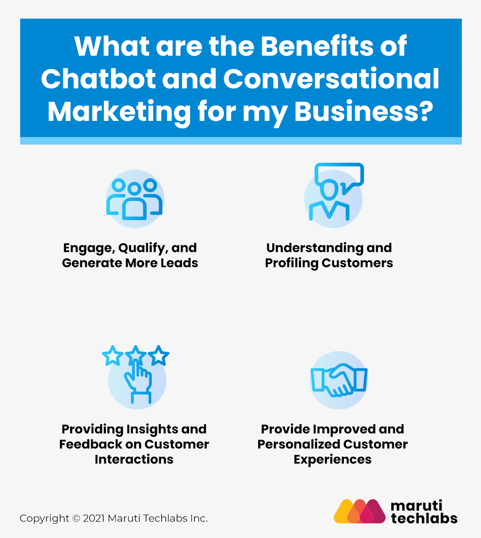 Benefits of Chatbot and Conversational Marketing