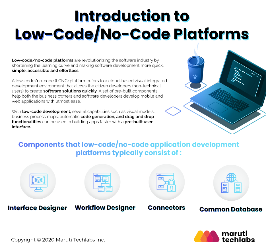 Introduction to Low Code / No Code Platforms