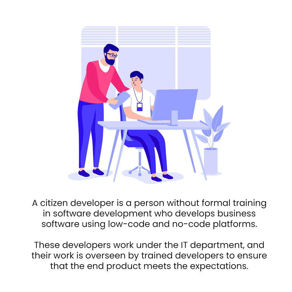 What is citizen development?