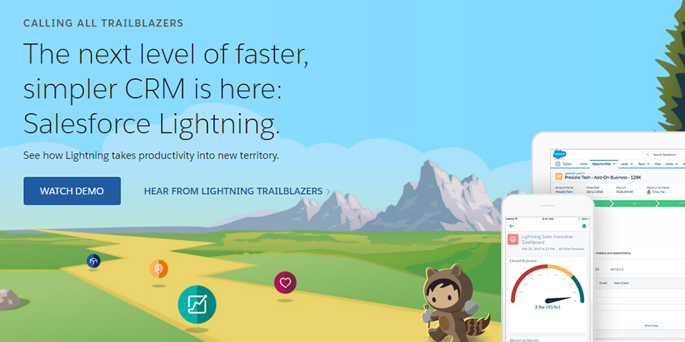 Low Code Platform -salesforce lightning