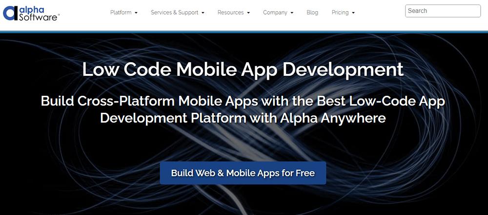 Rapid Application Development Tool alpha