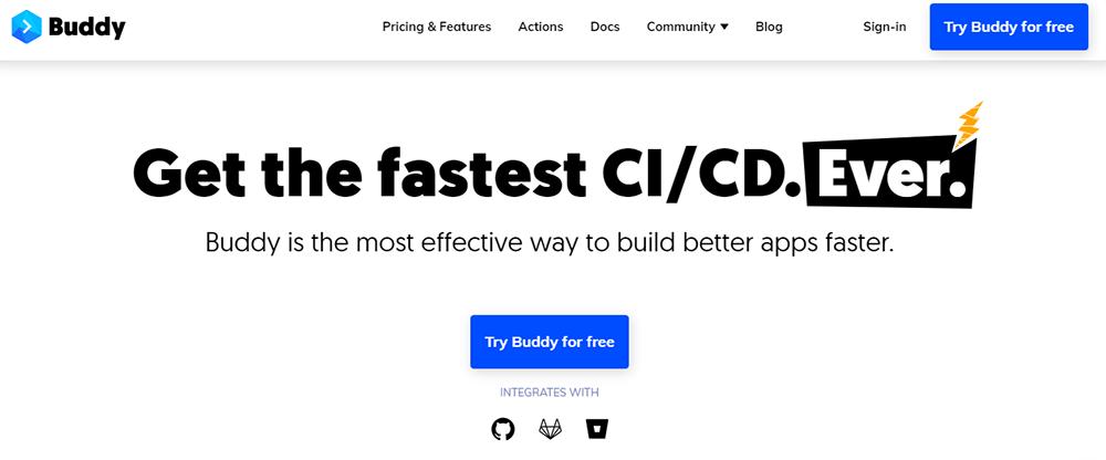 Rapid Application Development Tool - buddy