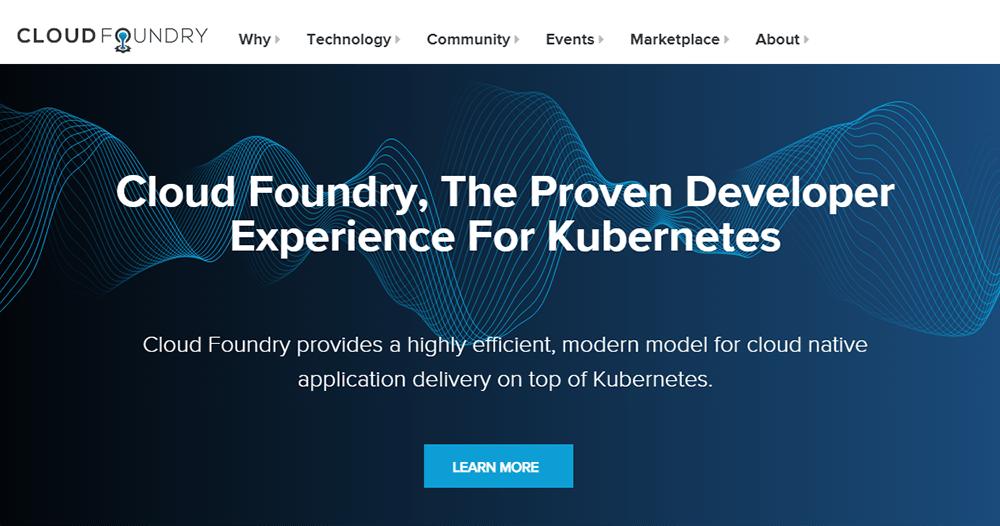 Rapid Application Development Tool cloud foundry