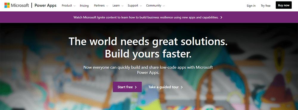 Rapid Application Development Tool microsoft