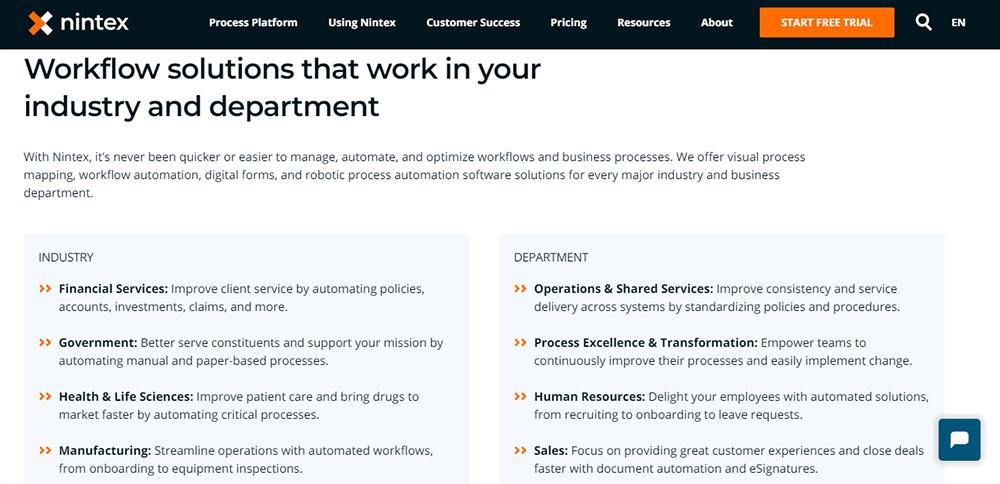 Rapid Application Development Tool Nintex