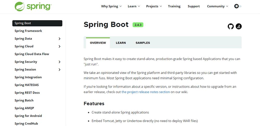 Rapid Application Development Tool - springboot
